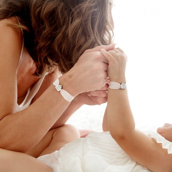 My Mummy & Me Personalised Stretch Bracelets - Inscripture - Personalised Jewellery