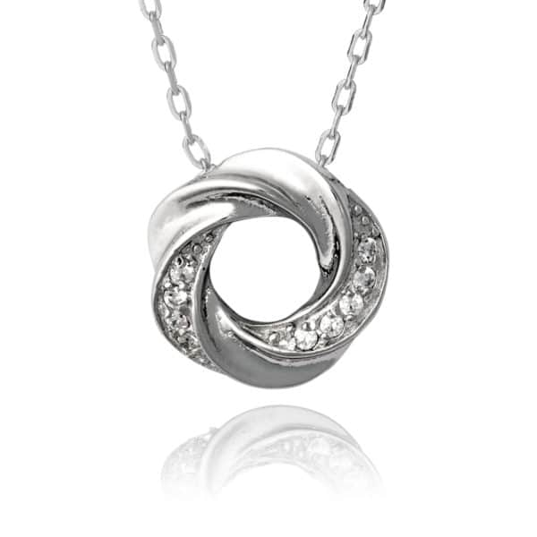 Inscripture - SS Open Knot Necklace