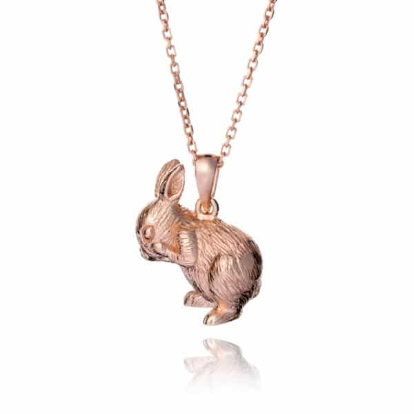 Inscripture - RG Bunny Necklace