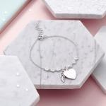Inscripture - Angel Wing Crystal Bracelet