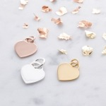 Inscripture heart charms