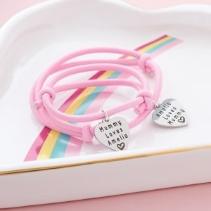 My Mummy & Me Personalised Bracelets - Inscripture - Personalised Jewellery