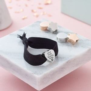 Personalised Stretch Bracelet - Inscripture - Personalised Jewellery