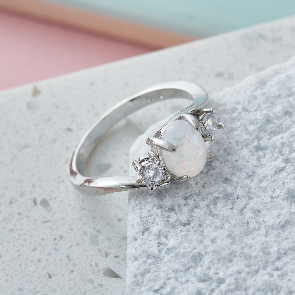 Inscripture - Opal Ring