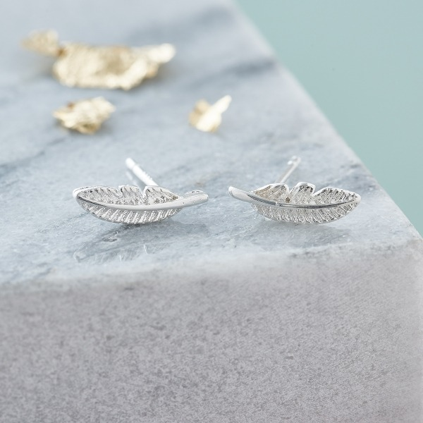 Inscripture - Feather Earrings