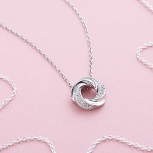 Open Knot Necklace