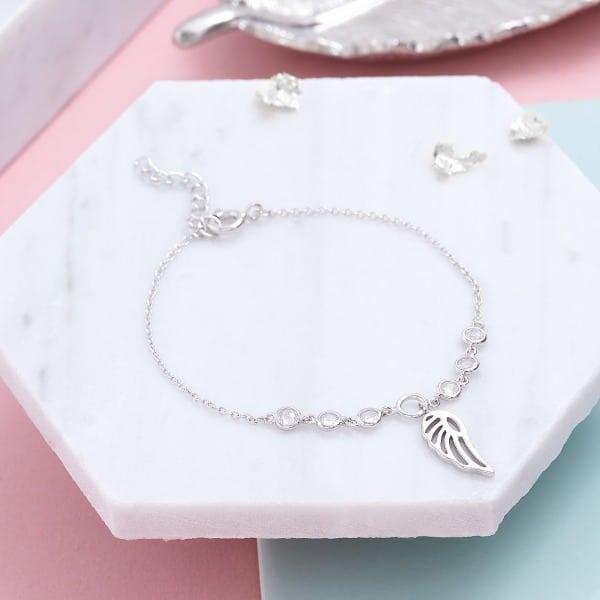 Inscripture - Angel Crystal Bracelet