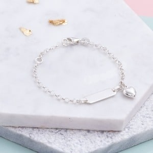 Children's Personalised Bar Bracelet - Inscripture - Personalised Jewellery