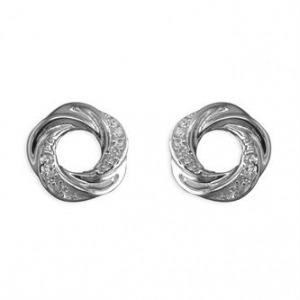 Open Knot Earrings