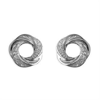 Inscripture - Open Knot Earrings