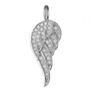 Angel wing charm - Inscripture - Personalised Jewellery