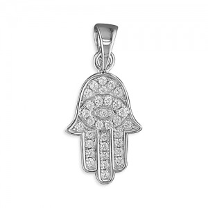 Hamsa Hand Charm - Inscripture - Personalised Jewellery