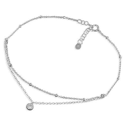 Inscripture - Duo Anklet