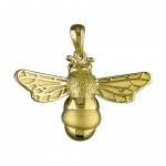 Inscripture - Gold Bumble Bee Charm