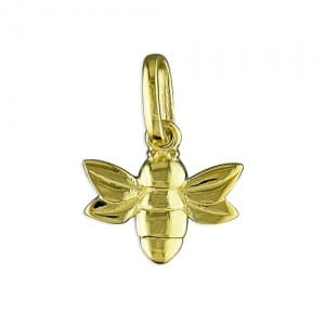 Gold Bee Charm