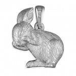Inscripture - Silver Bunny Charm