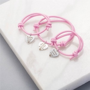 Mummy, You & Me Personalised Bracelets - Inscripture - Personalised Jewellery