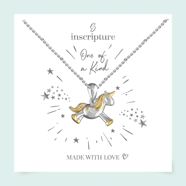 Inscripture - Unicorn Necklace