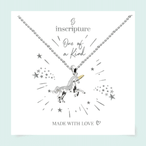 Unicorn Necklace - Inscripture - Personalised Jewellery