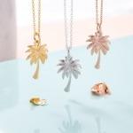 Inscripture - Palm Tree Necklace