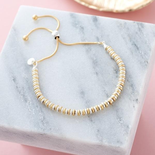 Inscripture - Gold Sweetie bracelet