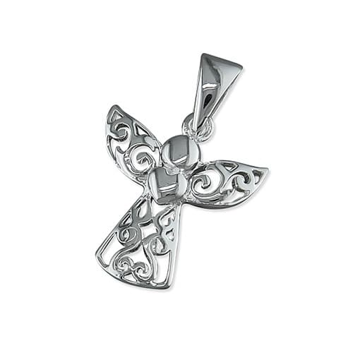 Inscripture - Filigree Angel Charm