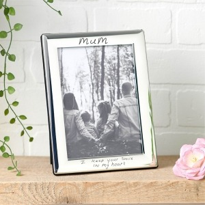 Handwriting photo frame