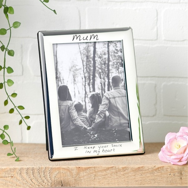 Actual Handwriting photo frame - Inscripture - Memorial Gift - Homeware