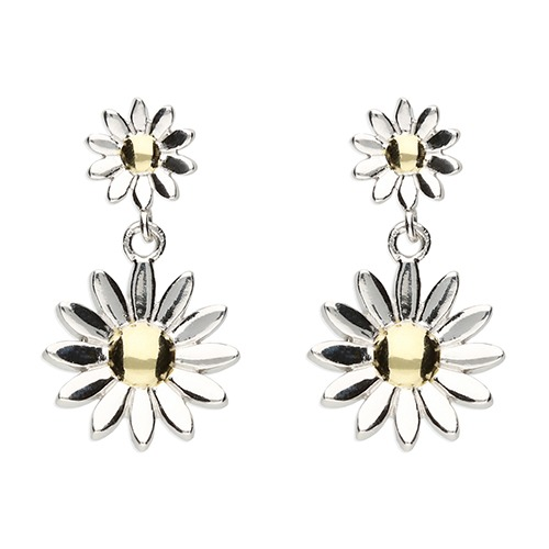 Inscripture - daisy earrings
