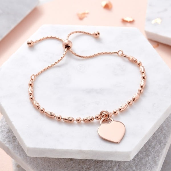 Inscripture - Rose Gold Oval Mix Bracelet