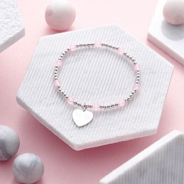 Inscripture - Rose Quartz Bracelet