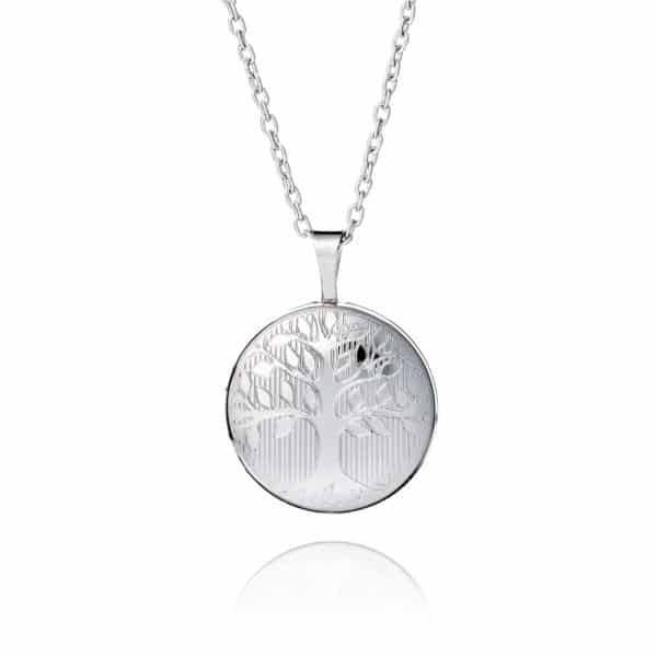 Inscripture - Silver Family Tree Locket