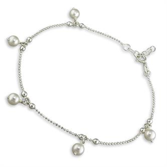 Inscripture - Pearl Anklet