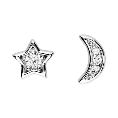 Inscripture - Sun & Moon Stud Earrings