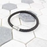 Inscripture - Leather Men's Bracelet