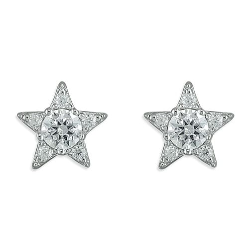 Inscripture - Diamante Star Studs