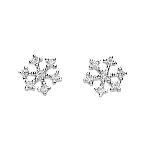 Inscripture - snowflake earrings