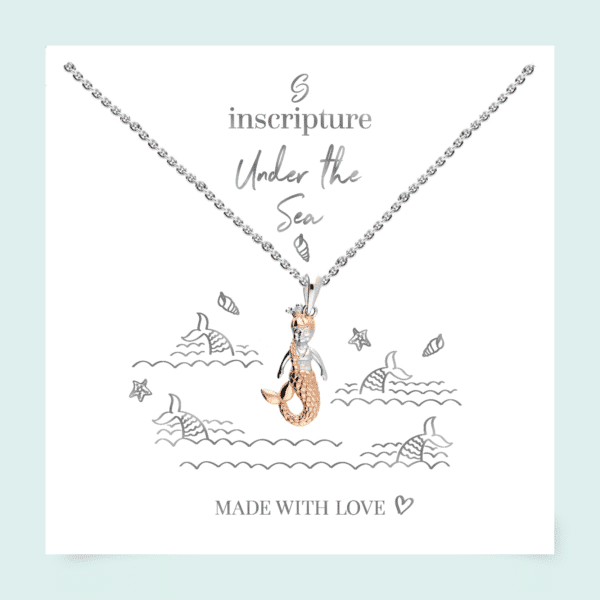 Inscripture - Rose Gold Mermaid