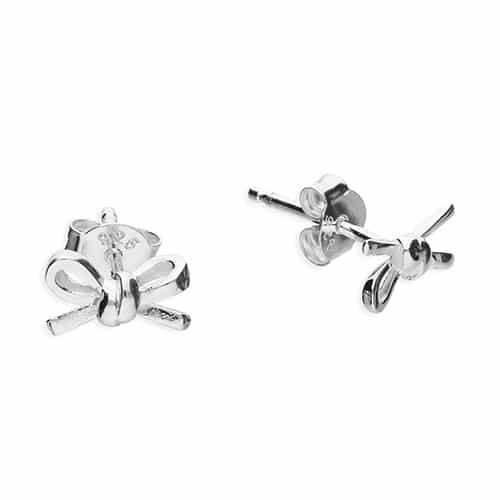 Inscripture - Bow Earrings