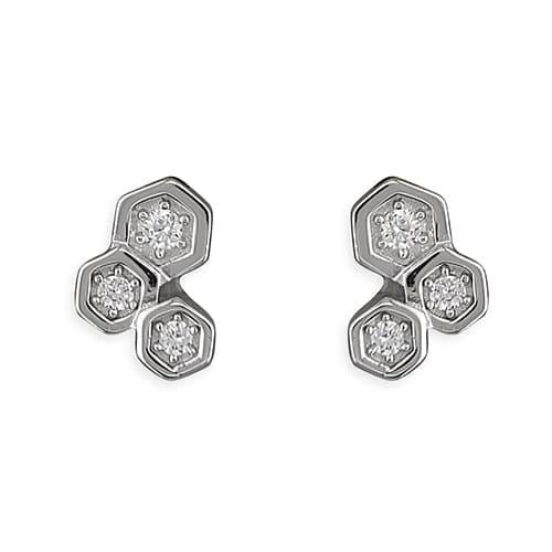 Inscripture - Honeycomb Earrings