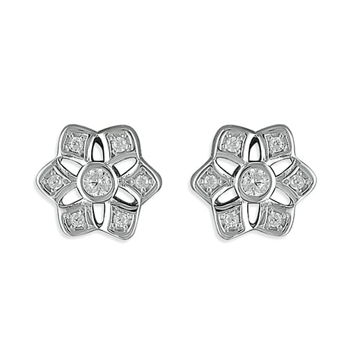 Inscripture - Vintage Flower Earrings