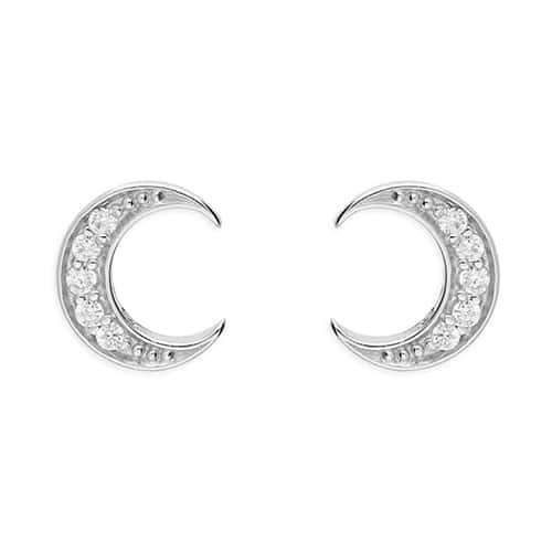 Inscripture - Moon Earrings