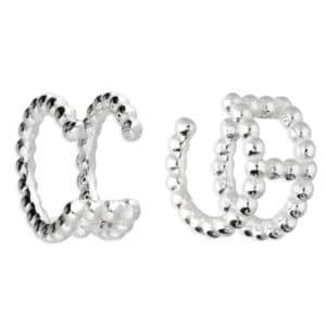 Sterling Silver Ear Cuff Earring - - Inscripture - Personalised Jewellery