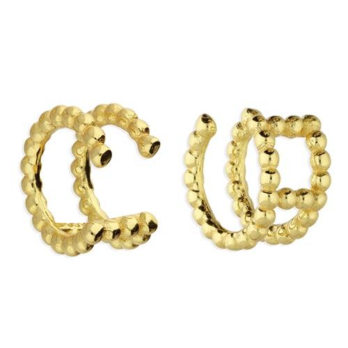 Inscripture - Gold Double Cuff