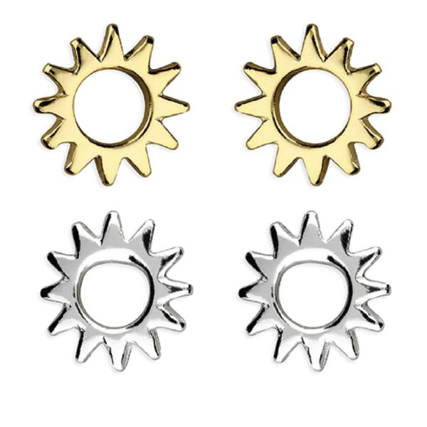 Inscripture - Sun Stud Earrings