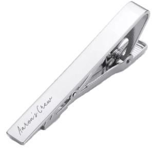 Personalised Tie Clip Inscripture - Personalised Jewellery