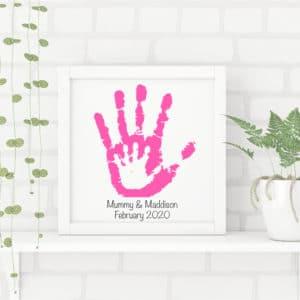My Mummy & Me Handprint Frames
