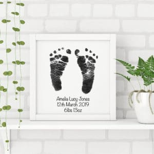 Hand, Foot & Paw Print Frame