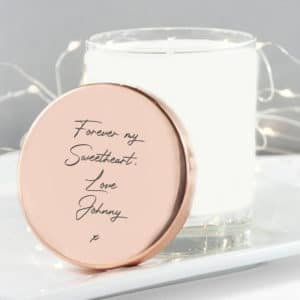 Handwriting Personalised Candle - Inscripture - Personalised Homeware