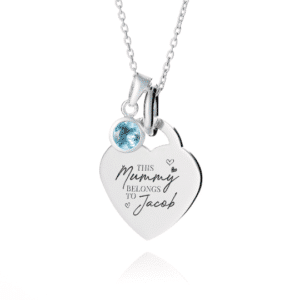 This Mummy Belongs To Necklace - Inscripture - Personalised Jewellery